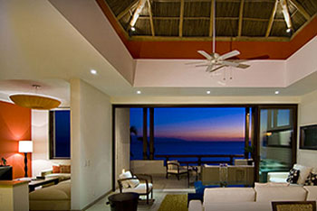 mexico beach property with open floor plan and stunning views