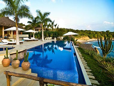 Luxury rental beachfront property in Punta Mita Mexico