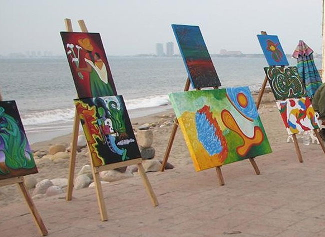 art for sale in Puerto Vallarta El Malecon